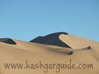 Echoing sand dunes
