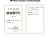 prc road transport operator license