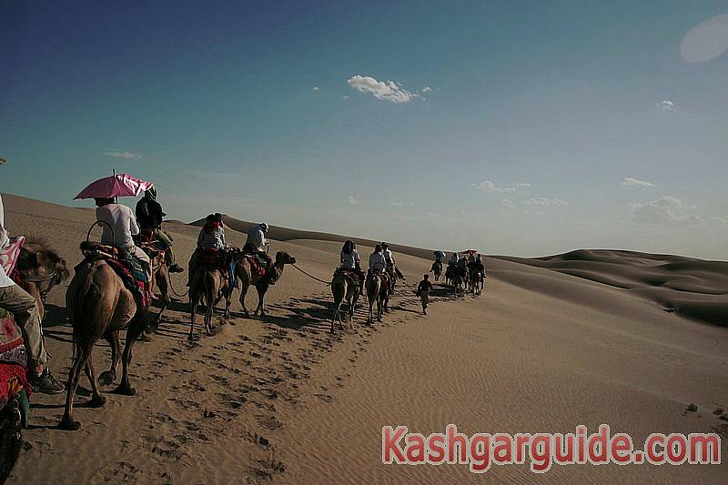 Dawakul Lake Taklimakan Desert