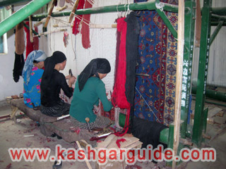 hotan carpet factory