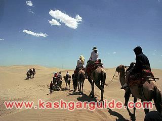 Camel trekking and Camping Tour