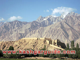 tashkorgan stone city
