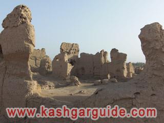 turpan jiaohe ancient city