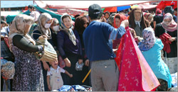 Kashgar Sunday Bazaar Photos