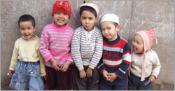 Uyghur Kids Photos
