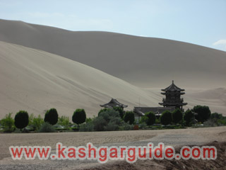 dunhuang cresent moon lake