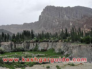 kashgar oytagh mountain